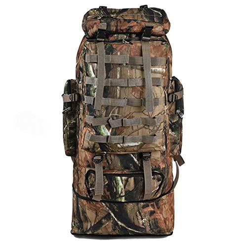 Generic Brands Sac à Dos IBHT Grande Randonnée Sac à Dos, Sac à Dos Souple Camouflage, Sac de Sport for Hommes et Femmes, Camping Sac à Dos 1 (Capacity Tan)