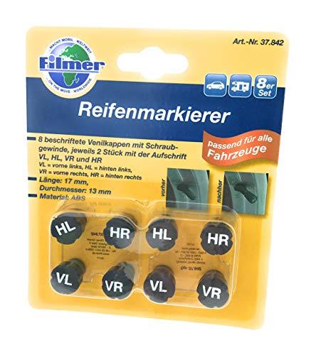Filmer 37842 Reifenmarkierer 8er-Set, Set of 8