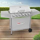 Broil-master Barbecue grill griglia giardino barbecue a gas con 6 bruciatori...