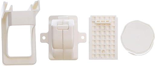 DOITOOL 11 Stks Witte Magnetische Kast Sloten Baby Proofing Kast Slot Voor Het Beschermen Van Kinderen Peuters Baby Veilig...