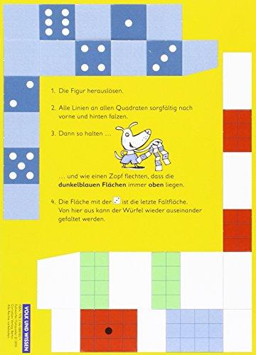 Mathefreunde - Zu den Ausgaben Nord/Süd - 2010: 2./3. Schuljahr - Faltwürfel: Kartonbeilagen. 10 Stück im Beutel