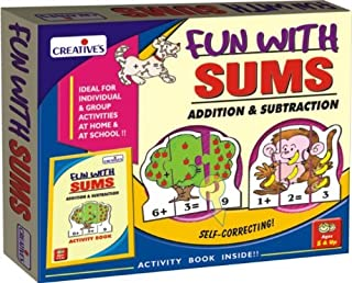Creative Educational School Fun with Sums Addition and Subtraction