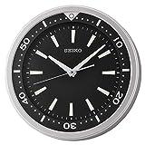 SEIKO 14' Ultra-Modern Watch Face Black & Silver...