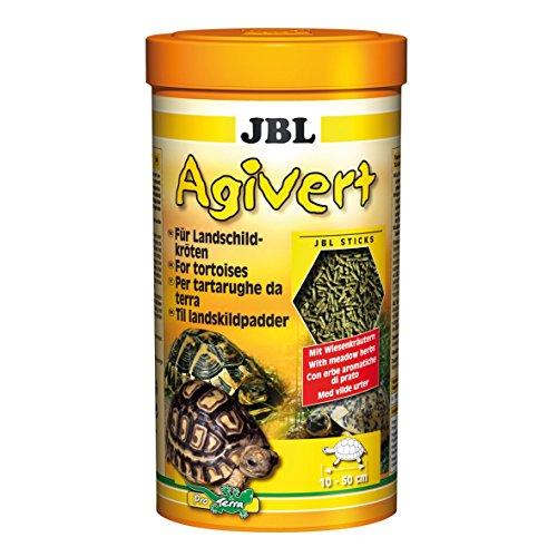 JBL 70333 hoofdvoering voor landschildpadden van 10-50 cm, Sticks Agivert, 1 l