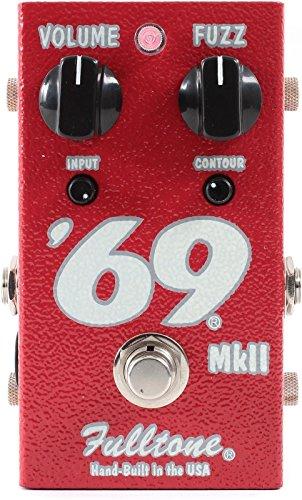 Fulltone '69 mkII Fuzz Boost True Bypass Guitar Effect Analog Pedal (Latest Version)