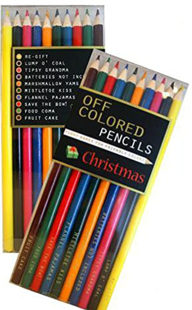 Off Colored Pencils - CHRISTMAS - Funky Names For Friendly Colors