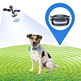 GPS Wireless Dog Fence, Electric Dog Wireless Fence Pet Containment System, Control Range 98-3280 ft, Adjustable Warning Strength, Rechargeable and Waterproof, Harmless and Suitable for All Dogs