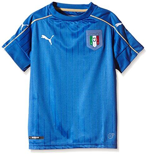 PUMA Kinder Trikot FIGC Italia Home Shirt Replica, Blau, 748833 01, 152 (11-12 Jahre)