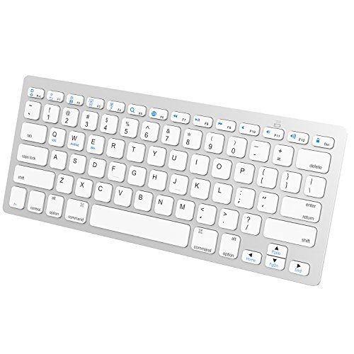 JETech Ultra-Magro Tastiera Bluetooth Senza Fili Wireless Keyboard per iPhone, iPad PRO, iPad Air,...