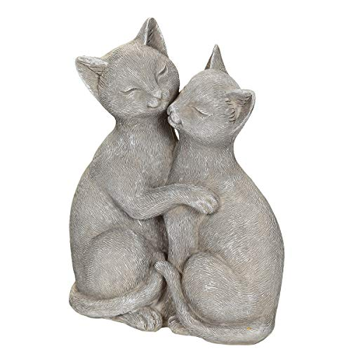 /N softwarego 71011 - Pareja de gatos (15 cm), color gris
