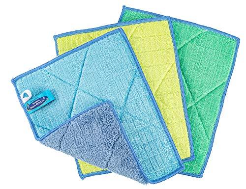 Aqua Clean Microfaser Kristall Sonnenschein Spültücher extrem saugfähig 3tlg.
