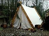Wikingerzelt Reenactment Keilzelt Mittelalter Wikinger Zelt LARP Viking Tent