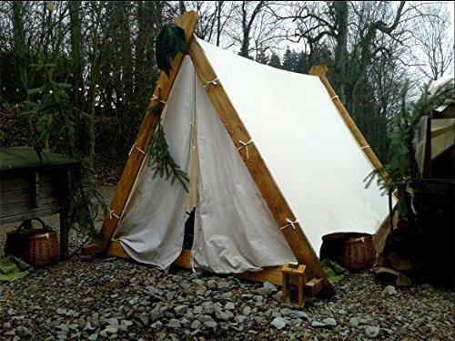 Vikingtent reenactment middeleeuwse Vikingtent LARP Viking Tent