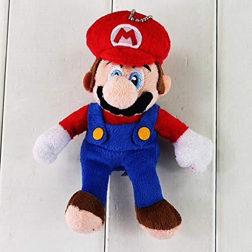 15 cm Super Mario Leuke Hanger Bros Knuffel Mario Luigi Soft Gevulde Pop Hangers Voor Jongens En Meisjes Kerstcadeau, Mario