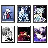 *My Hero Acadèmia Hero *of *Izuku *All *Might *Tomura *Himiko, Impressions artístiques Digitals, 20 x 25 cm, sense Marco, Joc de 6 Peces