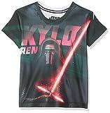 Star Wars - Camiseta infantil (98/104), diseño de Kylo Ren, color negro