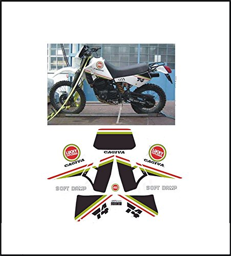 GRAPICHSMOTO Kit adesivi decal stikers CAGIVA T4 350 R ability to customize the colors