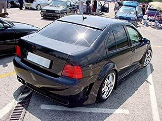 OriginalEuro Euro Roof Extension Rear Window Cover Spoiler Wing Trim ABS for VW Jetta MK4 4 Bora