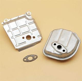 Tiempo Beixi Agotar canalización de Aire Silenciador Junta Fit for Honda GX35 GX35NT HHT35S UMK435 4 Tiempos Motor de Gasolina de Motor generador del cortacésped