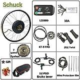 Schuck Bicicleta eléctrica de Rueda Trasera 48V 1000W 20