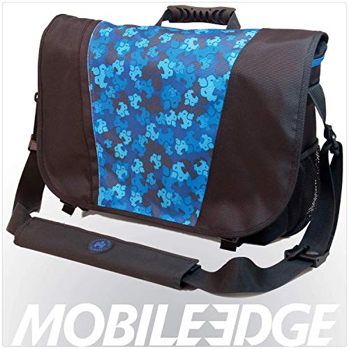 Sumo Laptop Sumo Messenger Bag- 16-Inch PC/17-Inch Mac (Blue Camo)