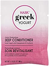 Hask Greek Yogurt Hair Mask 1.75 Oz! Hair Treatment For Repair, Color Protection, Hydrating, Smooth And Shine! Paraben Free and Gluten Free! Choose Your Hair Mask Treatment! (Color Protection)