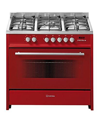 Meireles E 911 R - Cocina (Independiente, Botones, Giratorio, Frente, 121 L, Eléctrico, Grande)