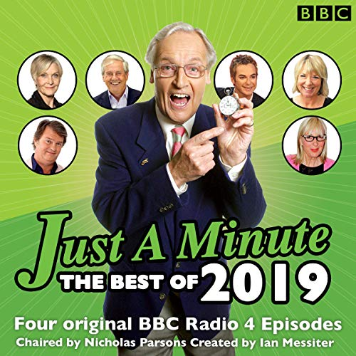 Just a Minute: Best of 2019 audiobook cover art