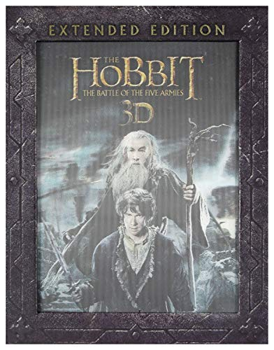 The Hobbit: The Battle of the Five Armies (BOX) [3Blu-Ray]+[2Blu-Ray 3D] [Region B] (IMPORT) (Keine deutsche Version)