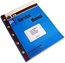 Farmall International Cub and Cub Lo-Boy Tractor Factory Service Repair Manual Revised for 1947-1976 (GSS-1411 with Revision)