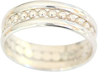 California Toe Rings Women's Sterling Silver Trio Set Plain Bands Fitted Sized Toe Ring
