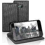 Carbon Fiber Wallet Case For HTC U11 Life | Black Envelope