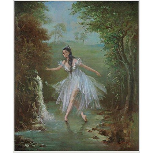 Margot Fonteyn come Ondine, Carlotta Edwards, cartoncino arte acquerelli 315 gmq, Image size: 610mm x 505mm (24' x 20')