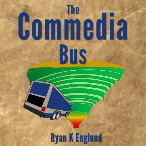 The Commedia Bus audiobook cover art