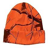 Realtree Licensed Camo Knit Cuff Beanie (Realtree Blaze Orange)