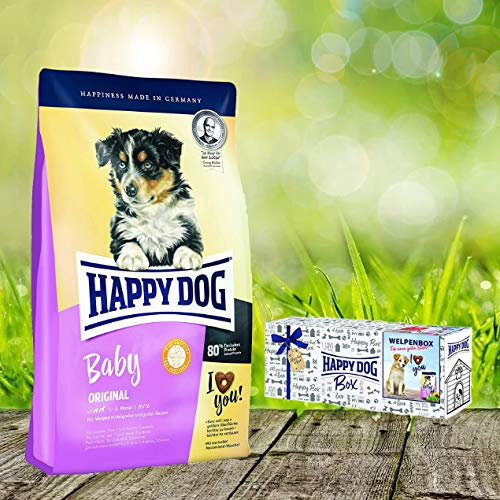 Happy Dog Young Supreme Baby Original 2 x 10 kg = 20 kg Welpenbox Gratis