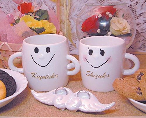 名入り,名入れ,なかよしペアマグカップ.送料無料(沖縄と離島を除く)結婚祝いギフト,結婚記念,結婚祝いプレゼント.贈り物