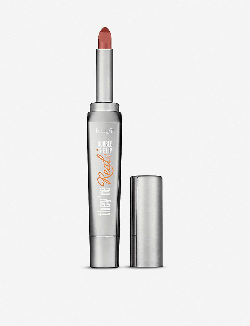 Benefit Cosmetics They're Attention brand Real Some reservation Double Lipstick The L Lip