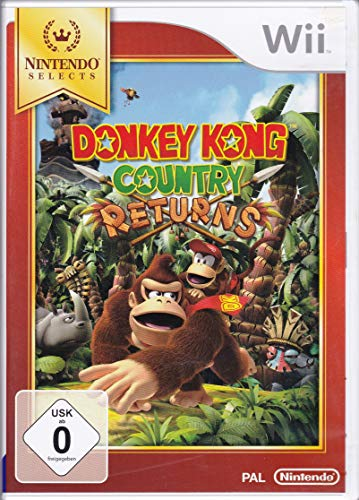 Wii Donkey Kong Country Returns Select (PEGI)