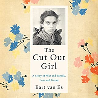The Cut Out Girl audiobook cover art