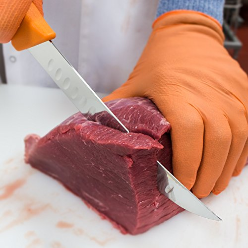 "UltraSource Breaking Butcher Knife, 8"" Fluted Blade"