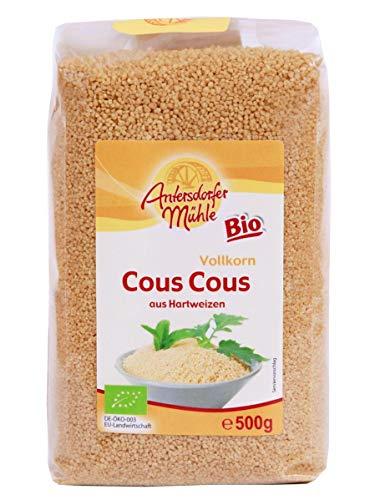 Antersdorfer Mühle - BIO Couscous - aus Hartweizen - für die schnelle Küche - DE-ÖKO-003 - 500g Beutel