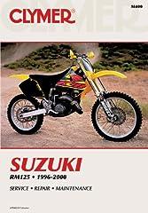 1996 - 2000 Suzuki RM125 Clymer Repair Manual