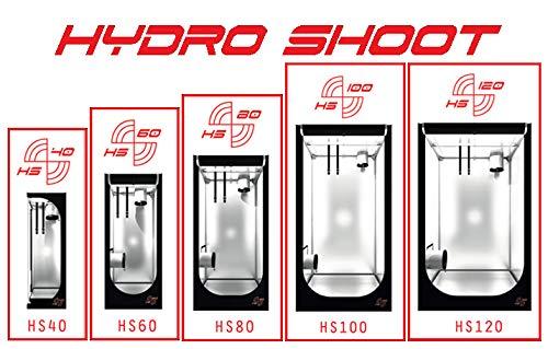 Secret Jardin Hydro Shoot Zelt verschiedene Größen (100x100x200)