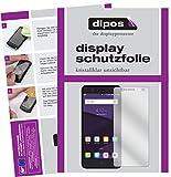 dipos I 2X Schutzfolie klar kompatibel mit ZTE Blade V8 Mini Folie Bildschirmschutzfolie