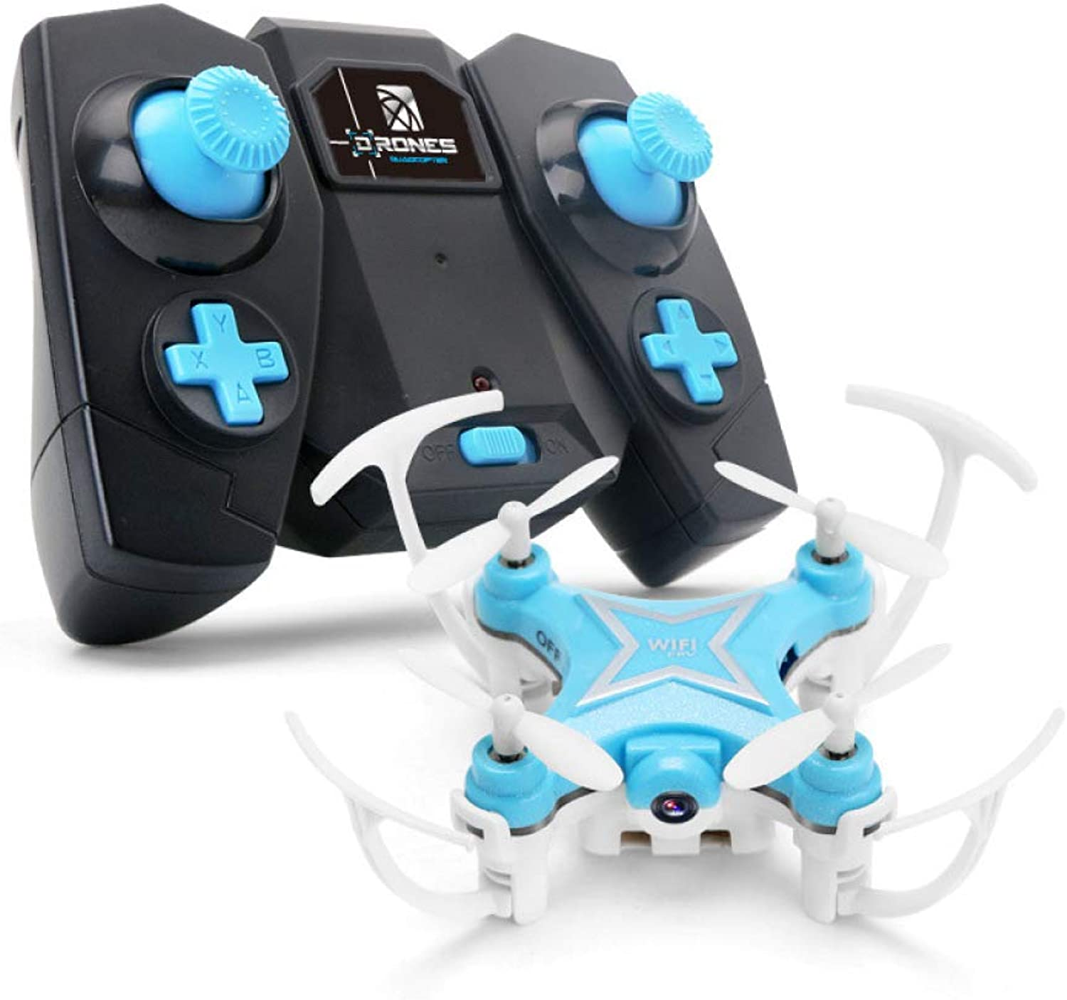 ERKEJI Drone Gravity induction Remote control mini fouraxis aircraft pneumatic fixed height toy aircraft 720P Aerial photo realtime transmission WiFi FPV VR