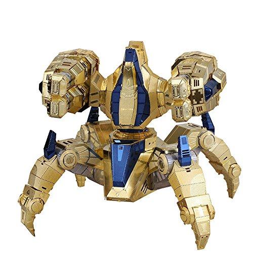 MU 3D Metall Puzzle Starcraft Protoss Immortal Modell YM-N029 DIY 3D Laserschnitt Modell-Bausatz Spielzeug