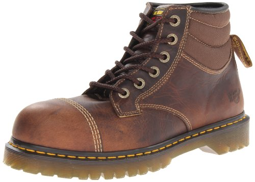 Hot Sale Dr. Martens Men's Lyall ST Work Boot,Tan/Brown,9 UK/10 M US