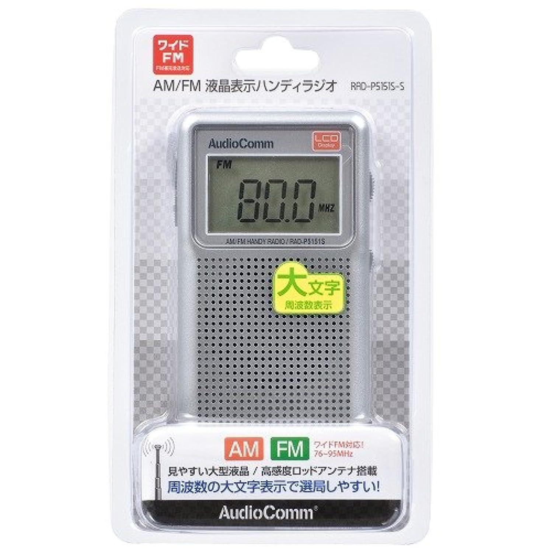 忠実な責める先見の明オーム電機 ラジオ AudioComm RAD-P5151S