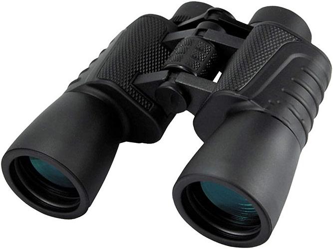 WANGMOO Jumelles 20X50 Télescope étanche HD Night Vision avec Porte-caméra pour Smartphone